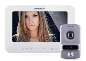 Hikvision DS-HIK-IP-INT-B set met Wit licht