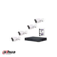 Dahua IP KIT met NVR4104H-P met 1TB HDD en 4 X IPC-HFW1300